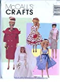 "McCall's 9664. Vintage fashion doll patterns for 11.5"" dolls (McCall's Crafts)"