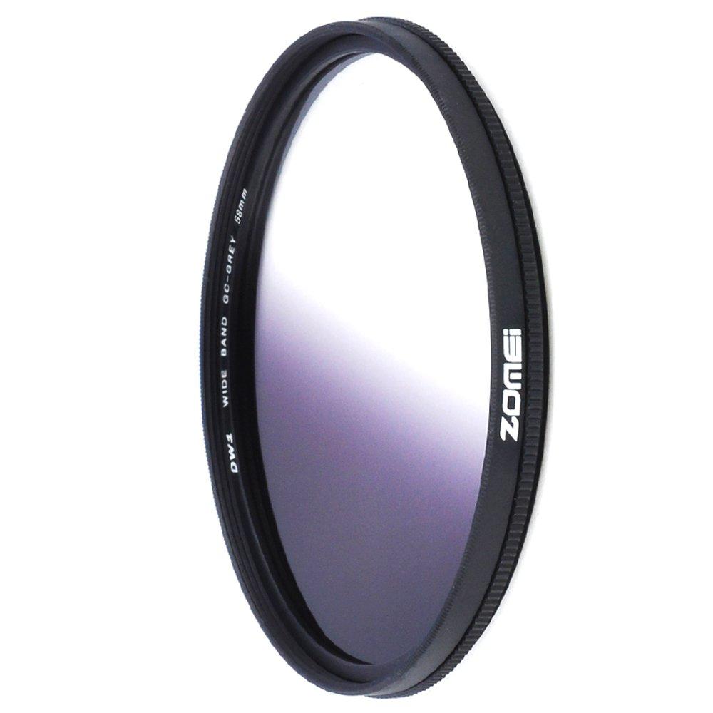 Zomei® Ultra Delgado Resina óptico Degradado Gris Densidad Neutra Filtro  Electrónica Más información y revisión del cliente
