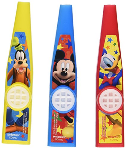 3-Piece Mickey Mouse Kazoos - 1