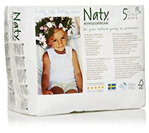 Naty by Nature Babycare Size 5 Junior Nappy Pants - Pack of 20 Nappy Pants