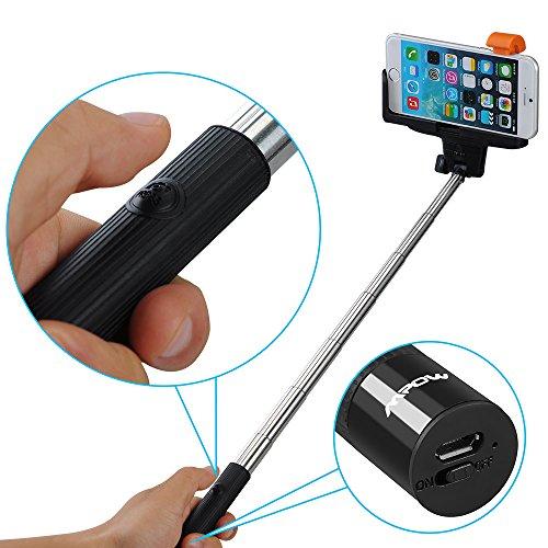 bestseller mpow isnap pro 2in1 selfportrait monopod extendable selfie stick. Black Bedroom Furniture Sets. Home Design Ideas