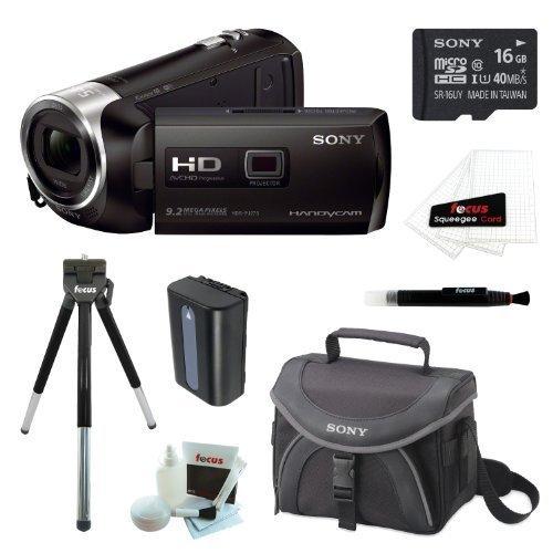 Sony HDR-PJ540/B HDRPJ540 PJ540 32GB Full HD 60p Camcorder w