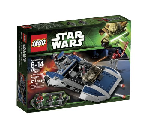LEGO Star Wars Mandalorian Speeder Amazon.com