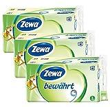 Zewa Toilettenpapier 'Bewährt' 3-lagig, Riesen-Vorratspack...