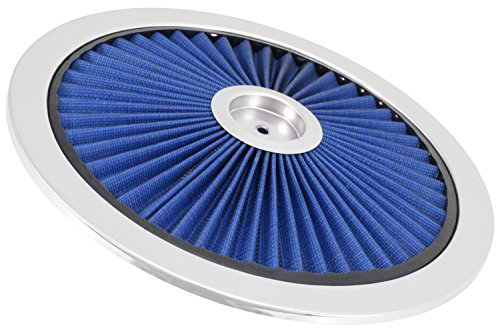 """Spectre Performance 47616 Blue 14"""" Air Cleaner Top"""