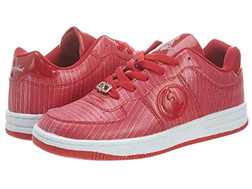 7. Baby Phat Women's Steph Twill Low Top Sneakers