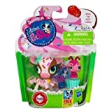 Littlest Pet Shop Sweetest 2 Pack Cow # 3126 & Ladybug # 3127