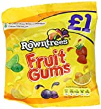 Nestle Rowntree's Fruit Gums 140 g (Pack of 12)