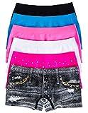 Caramel Cantina Girls Seamless Boyshort Panties 6-Pack