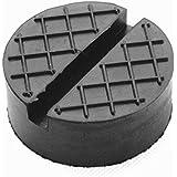 Gummiauflage d=65x25mm mit Nut & Waffel für Wagenheber und Hebebühnen