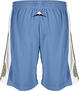 Adidas Denver Nuggets Youth NBA Replica Shorts by adidas