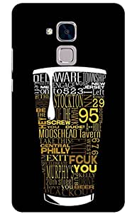 beer Designer Printed Back Case Cover for Huawei Honor 5C