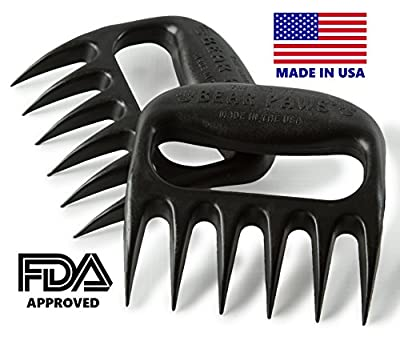 Bear Paws Original Meat Handler Forks - Set of 2