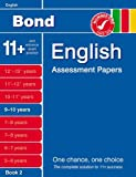Sarah Lindsay Bond English Assessment Papers 9-10 years Book 2