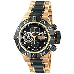 Invicta Men's 6523 Subaqua Collection Automatic Chronograph 18k Rose Gold-Plated Watch