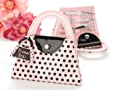 Pink Polka Purse' Manicure Set – Baby Shower Gifts & Wedding Favors
