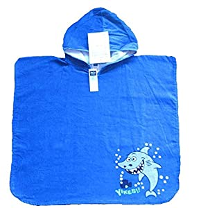 m co boys hoodie poncho swim cover up bath robe xsmall blue beach towels for. Black Bedroom Furniture Sets. Home Design Ideas