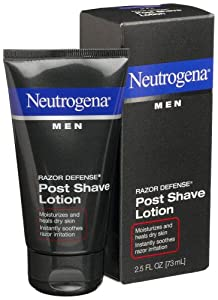 Neutrogena Men Razor Defense Post Shave Lotion, 2.5 Ounce (Pack of 4)