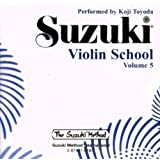Suzuki Violin School, Volume 5 (CD) (Suzuki Method)