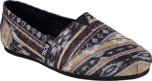 Skechers Women's BOBS Plush Wonder Alpargata,Black,US 10 M (Bobs Shoes Womens compare prices)