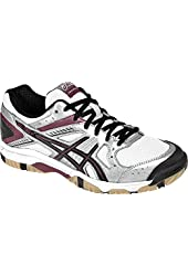 ASICS Volleyball Shoes Women's Gel-1150V-Silver/Cardinal/Black