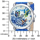 Ed Hardy Women's GN-BL Garden Blue Watch