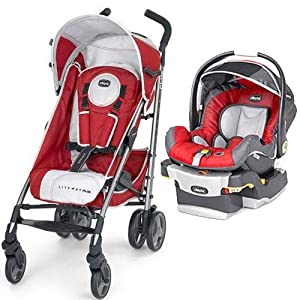Chicco Liteway Plus KeyFit 30 Travel System - Snapdragon