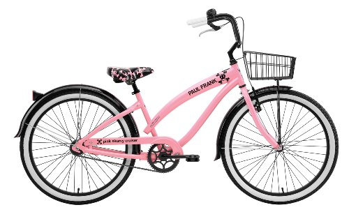 Nirve Paul Frank Skurvy Women's Single Speed Cruiser Bike