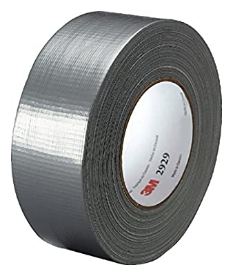 3M Utility Duct Tape 2929 Silver, 1.88 in x 50 yd 5.8 mils (Pack of 15)