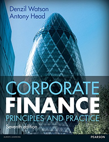 case questions principles of corporate finance Case study on romanian listed entities  violation of the conservatism principle  and the analysis of the financial indicators,  the prediction of corporate failure : the state of the art, journal of accounting literature,2, 1-38.