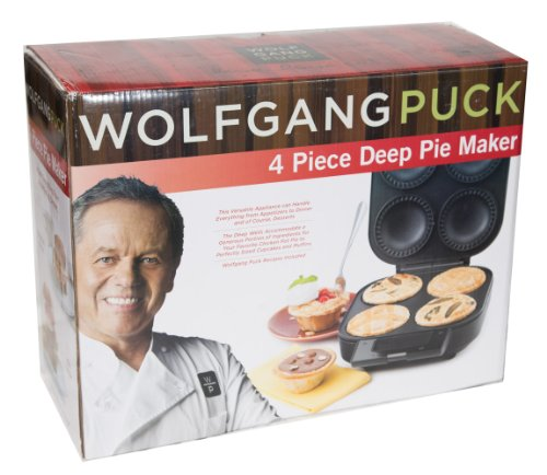 Wolfgang puck 4 piece deep pie pastry baker home garden for Wolfgang puck pie maker recipes