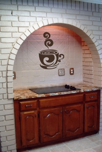 Coffee Cup Vinyl Wall Decals Stickers Art Graphics By LKS Trading Post