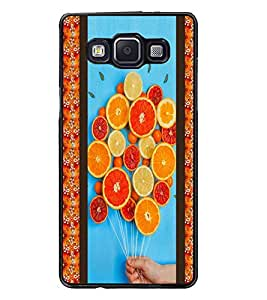 PrintDhaba Leamons D-3758 Back Case Cover for SAMSUNG GALAXY A5 (Multi-Coloured)