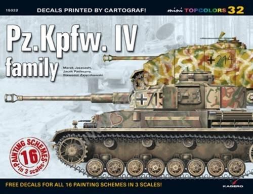 Pz.Kpfw IV Family (Mini Topcolors) [Jaszczolt, Marek - Pasieczny, Jacek] (Tapa Blanda)