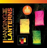 Red Hanging Lanterns, candle lanterns, outdoors tealight hanging lanterns - Holds tealights candles, hanging candle bags. Great for parties and BBQ's