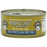 Raincoast Trading Company Solid White albacore Tuna,  5.3-Ounce Cans (Pack of 6)