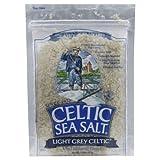 Celtic Sea Salt Light Grey Pouch 8.0 OZ - Pack of 2