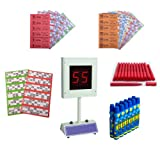 Lucky Bingo Electronic Bingo Machine Starter Kit - All you need to play Bingo