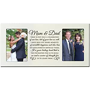 Wedding Gifts For Parents Amazon : Amazon.com - Parent Wedding Gift, Wedding Photo Frame, Parent thank ...