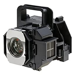 OEM Epson Projector Lamp, Replaces Model PowerLite HC 8350 with Housing