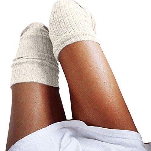 Chaussettes-Malloom-Chaussettes-Femmes-Leggings-Hiver-Tricotes-Sur-Genou-Longues-Bottes-Cuissarde-Chaud