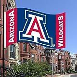 BSI Indoor Outdoor Sports Banner Arizona Wildcats Team Logo 3 Ft. X 5 Ft. Flag With Grommets