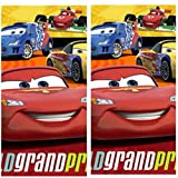 Disney Cars 2 Party Plastic Tablecovers - 2 Pieces