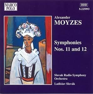 Moyzes: Symphonies Nos. 11 and 12
