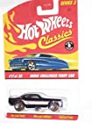 Classics Series 3 -#17 Dodge Challenger Funny Car Purple 5-Spoke Redlines Collectible Collector Car Mattel Hot Wheels 1:64 Scale