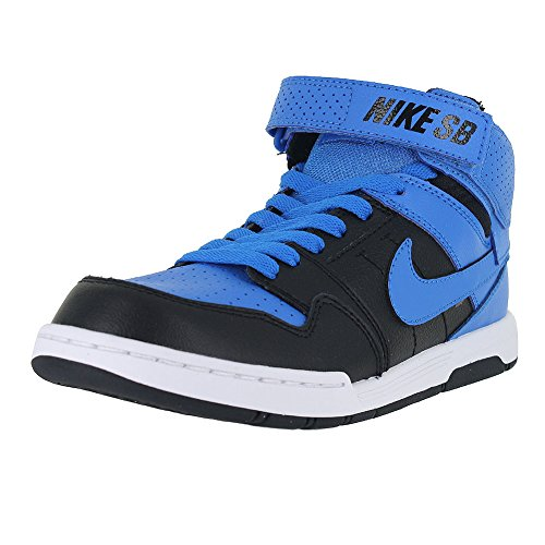 NIKE KIDS MOGAN MID 2 JR PHOTO BLUE BLACK SIZE 5 (Nike Mogan Mid 2 Jr compare prices)