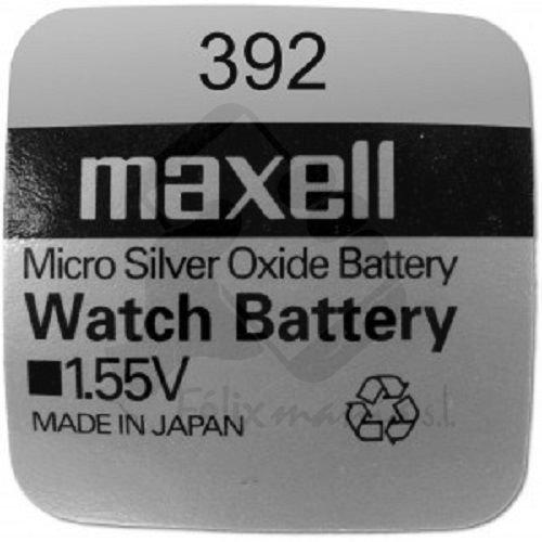 10 X PILE Maxell Batterie Originale 392 SR41W 1,55 V Boutons Pile Oxyde D'argent Maxell AG-3 Livraison 48/72H Felixmania®