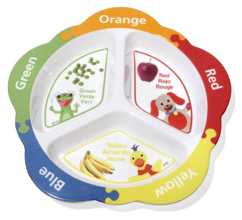 Playtex Baby Einstein Eat and Discover Plate - Style varies