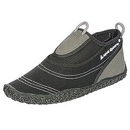 Aqua Sphere Unisex Beachwalker XP Beach Shoes (40-41) (Black/Grey)