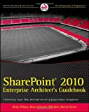 img - for SharePoint 2010 Enterprise Architect's Guidebook book / textbook / text book